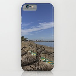 Marbella Beach  iPhone Case