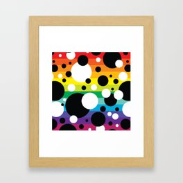 Party Confetti 6 Framed Art Print