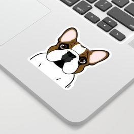 Frenchie - Fawn Pied Sticker