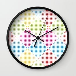 Dots #5 Wall Clock