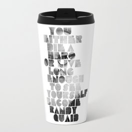 Die A Hero Travel Mug