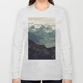 Mountain Fog Long Sleeve T-shirt
