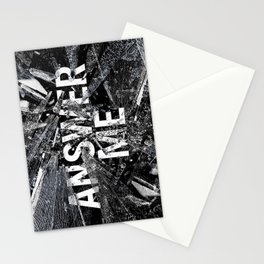 Answer Me Stationery Cards