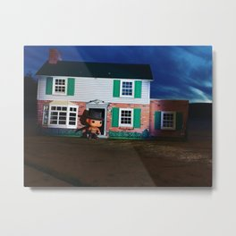 A POP! Nightmare on My Street Metal Print