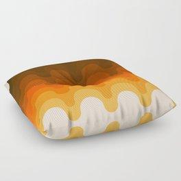 Julio - Golden Floor Pillow