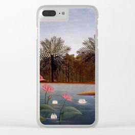 "Henri Rousseau ""The Flamingos"", 1907 Clear iPhone Case"