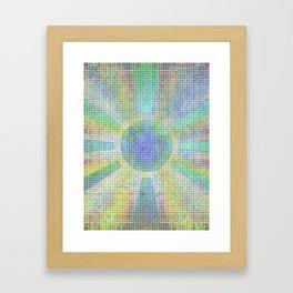 Surya Invocation (Sun) #2 - Magick Square Yantra Tantra Framed Art Print