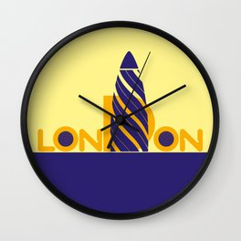 London 1 Wall Clock