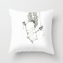 La Mode Throw Pillow