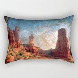 Van Goghs Sedona Vortex Rectangular Pillow