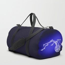 Luminous Angel Jellyfish Duffle Bag