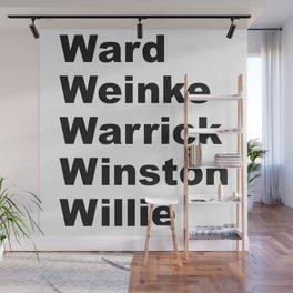 WWWWWinning Wall Mural