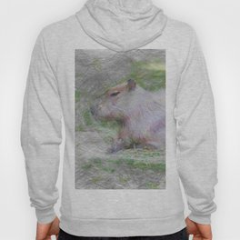 Artistic Animal capybara Hoody