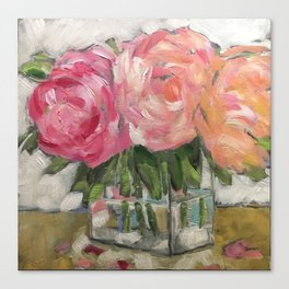 Pink as Pink Can Be Canvas Print