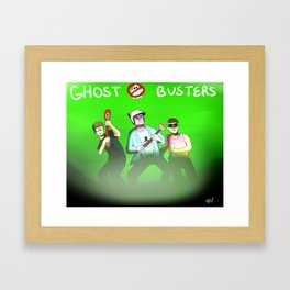 Ghost Busters - BBS Version Framed Art Print