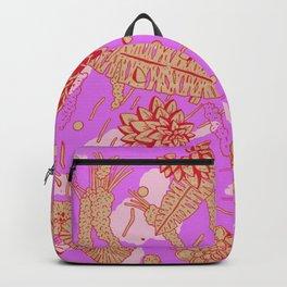 Warm Flower Backpack