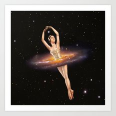 Cosmic Ballerina, Part 1 Art Print