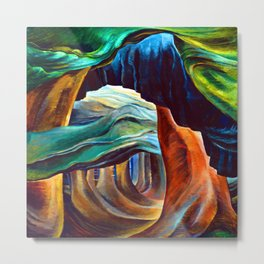 Emily Carr Forest in British Columbia Metal Print