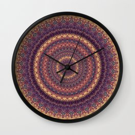 Mandala 590 Wall Clock