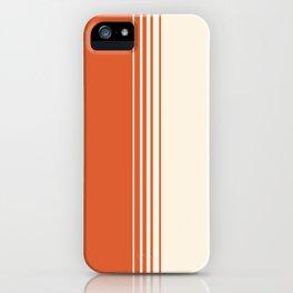 Marmalade & Crème Vertical Gradient iPhone Case