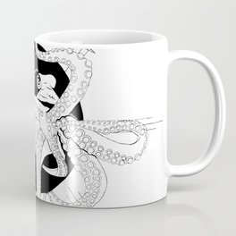Captured by the sun - Ink artwork Coffee Mug