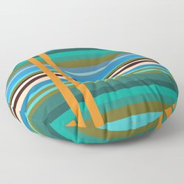 Stripes I Floor Pillow