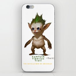 YT Troll - Revelations of Oriceran (C) iPhone Skin