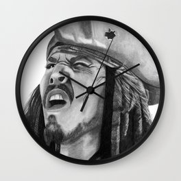 Jack Sparrow - I Wash My Hands Of This Weirdness Wall Clock