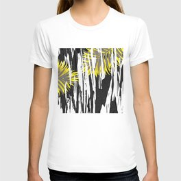 Abstract Palm Tree Leaves Design T-shirt