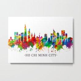 Ho Chi Minh City Vietnam Skyline Metal Print