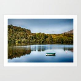Loch Awe Reflections Art Print