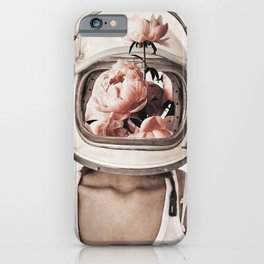 Space bloom iPhone Case