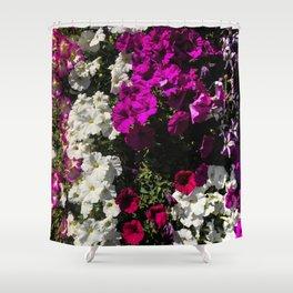 Petunia Tower Shower Curtain