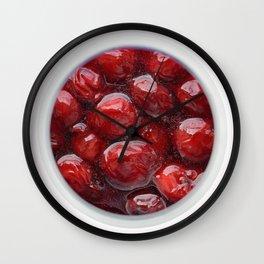 Cherry feast Wall Clock