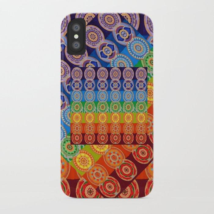 7 Chakra Symbols Of Healing Art 2 Iphone Case By Sharlesart Society6