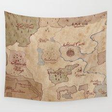 Map of Hyrule- Legend of Zelda Wall Tapestry