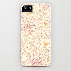 an abundance of triangular amoebas iPhone (5, 5s) Slim Case