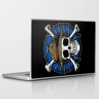 luffy Laptop & iPad Skins featuring Going Merry by Fuacka