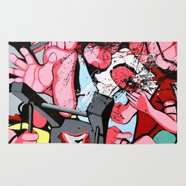 Guerre puDiche Rug