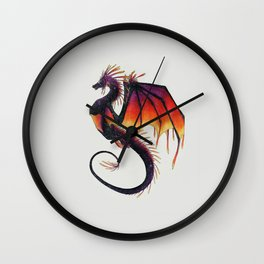 Sunset Frill Wall Clock