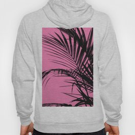 Palm leaves paradise with pink Hoody