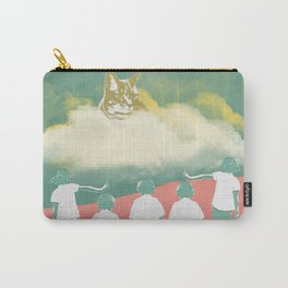 A Cat's Mind Carry-All Pouch