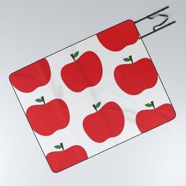 Red Apples Picnic Blanket