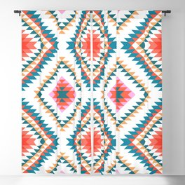 Aztec Rug 2 Blackout Curtain