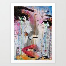 SUDDEN MEANINGS Art Print