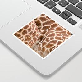 Abstract giraffe picture Sticker