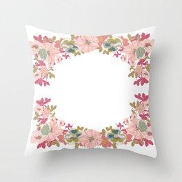 Blomma Garden Pastiche Throw Pillow