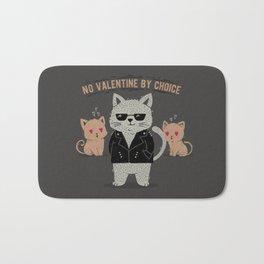 No Valentine By Choice Bath Mat