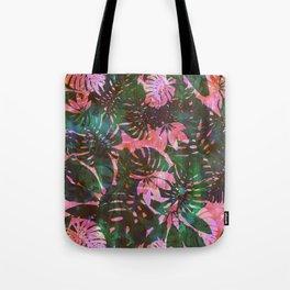 Motuu Tropical pink & green Tote Bag