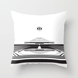 Architecture of Rapla KEK Throw Pillow